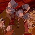 Disney princesses celebrate Oktoberfest with favorite brewskies