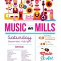Music on Mills returns in November
