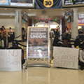 UCF's Black Student Union protests racial injustice at campus sit-in