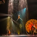 Cirque du Soleil sets up shop in the Florida Mall parking lot to pay tribute to Mexico in 'Luzia'
