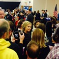 What happened to Hillary Clinton in New Hampshire?