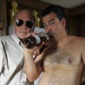 Randy and Mr. Lahey from 'Trailer Park Boys' get in character at Backbooth Saturday
