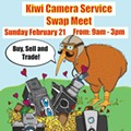 Photography buffs: Kiwi Camera is holding a swap meet on Sunday, Feb. 21
