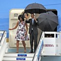 President Obama arrives in Cuba for historic visit