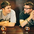 Tom and Dan celebrate their seventh anniversary with a free party at the Beacham