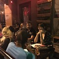 Monthly debate night Drunken Problem Solving sparks spirited discussion and rewards non-linear thinking
