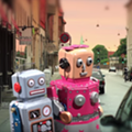 "Cute droids find love in Marc With a C's new video, ""Where's My Giant Robot?"""