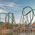Universal's Incredible Hulk coaster is now officially open