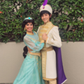 Jasmine covers up at Disney World with new conservative costume