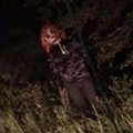Creepy clown caught on video creeping around Central Florida