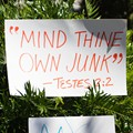 All the best signs we saw at the May 26 abortion rights protest in downtown Orlando