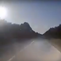 A massive fireball shot across the Florida sky Monday night