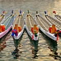Orlando Rowing Club gives a hands-on rowing lesson at the Duanwu Dragon Boat Festival