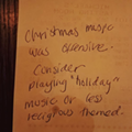 Customers offended by Florida restaurant's 'offensive' Christmas music