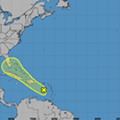 There's a chance the tropical wave eyeing Florida will turn into the third storm of the season