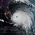 Hurricane Dorian still crawling west toward Florida, is welcome to begin moving north any time, please