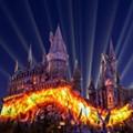 'Dark Arts at Hogwarts Castle' projection mapping debuts at Universal Orlando