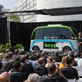 After a hurricane delay, Orlando's first autonomous buses finally begin routes in Lake Nona
