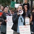 Rally outside of Orlando City Hall says 'no more endless wars'