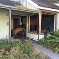 Large fire engulfs building at Orlando's troubled Tymber Skan community