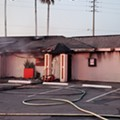 Orange County strip club Dancers Royale has suffered a devastating fire