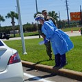 Coronavirus testing at the Orange County Convention Center on April 1, 2020