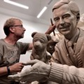 Here's an early look at the Mister Rogers statue coming to Winter Park's Rollins College