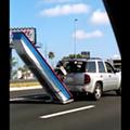 Florida man tows his boat