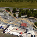 With only weeks until it opens, Fun Spot adds tunnels and more track length to its latest coaster