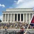Alt-right in fat Elvis mode at D.C. Nazi rally