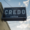 Downtown Credo is giving out free coffee today