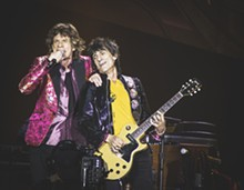 PHOTO BY CHRISTOPHER GARCIA - Wildest photos from the Rolling Stones at the Orlando Citrus Bowl