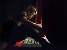 "PHOTO BY HOLGER TALINSKI - ""Peaches Does Herself"" rehearsal, HAU Theater, Berlin, October 2010"