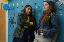 PHOTO COURTESY OF ANNAPURNA PICTURES, GLORIA SANCHEZ PRODUCTIONS - Beanie Feldstein and Kaitlyn Dever in 'BookSmart'