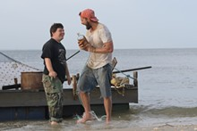 PHOTO COURTESY OF ROADSIDE ATTRACTIONS AND ARMORY FILMS - Zack Gottsagen and Shia LaBeouf in The Peanut Butter Falcon