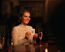 PHOTO BY ERIC ZACHANOWICH - Samara Weaving in Ready or Not