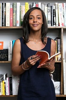 PHOTO BY BEOWULF SHEEHAN - Lisa Lucas, executive director of the National Book Foundation