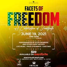 Facets of Freedom, a Celebration of Juneteenth - Uploaded by Mandi Jo John