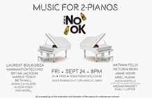 2-Pianos Benefit Concert - Uploaded by Nathan Felix