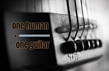 One Human + One Guitar - Uploaded by Nicholas Sellitto
