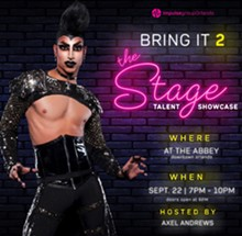 Axel Andrews hosting Bring It 2 the Stage! - Uploaded by Impulse Orlando