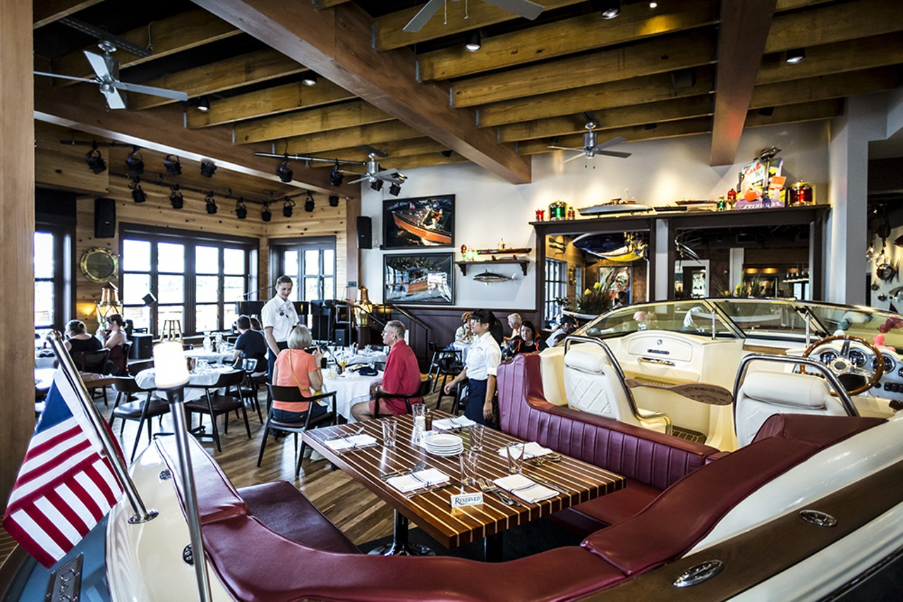 steak and seafood joint the boathouse really makes a. Black Bedroom Furniture Sets. Home Design Ideas