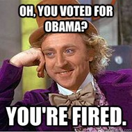 Vegas employer fires 22 because Obama won election