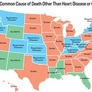 And the most common cause of death in Florida is...