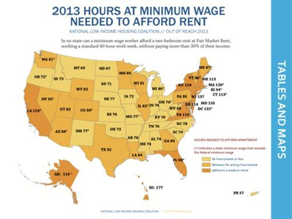 Want A Two Bedroom Apartment In Florida 98 Minimum Wage Hours Per
