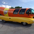 Oscar Mayer Wienermobile in Orlando this week