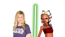 Video: Interview with Clone Wars star Ashley Eckstein at OSC