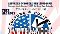 "VOTELANDO!: Saturday event promises ""candidate dunk tank,"" Charlie Crist and bus rides to early voting sites"