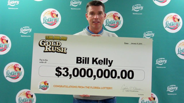 We hope Billy Kelly, whose dog's identity has not been revealed, renames his dog Lucky. And maybe gives him a steak. Or maybe even a whole cow. - FLORIDA LOTTERY