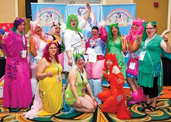 A visit to the My Little Pony Fair and Convention